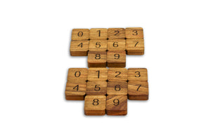 Wooden Math Set - Early Arithmetic
