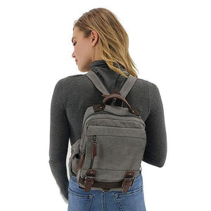 backpack sling bag canvas women