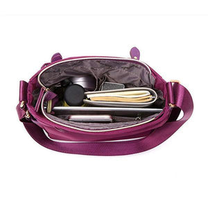 interior nylon crossbody bag