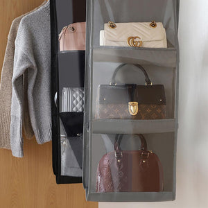 Hanging Handbag Organizer Spacious enough to keep your accessories