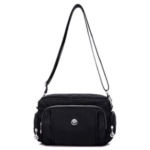 Maura, Women Multifunctional Zippered Bag with shoulder strap