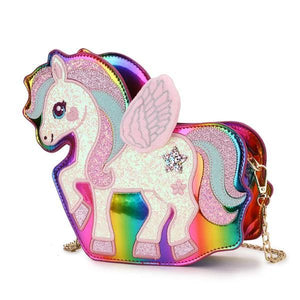Unicorn Adjustable Magic Bag, rainbow