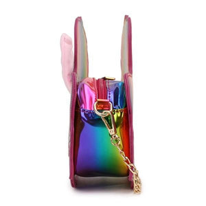Unicorn Adjustable Magic Bag, side view