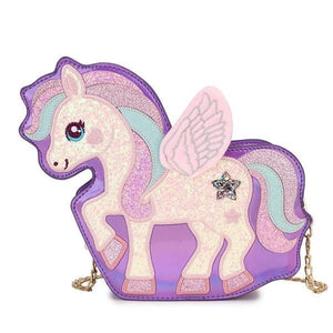 Unicorn Adjustable Magic Bag, purple