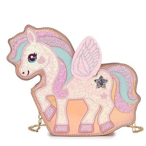 Unicorn Adjustable Magic Bag, champagne