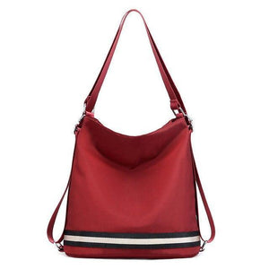 Hadley, Women Luxury Backpack Shoulder Bag, Red