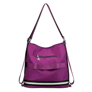 Hadley, Women Luxury Backpack Shoulder Bag, back view