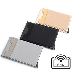 Anti theft RFID Smart Wallet