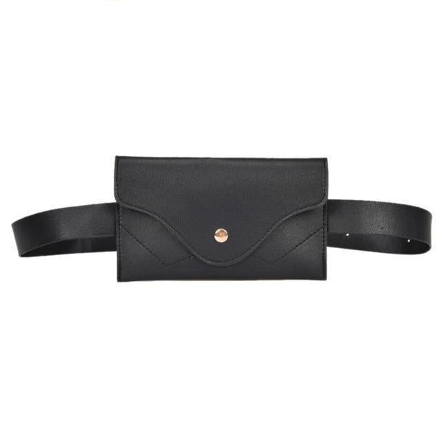 Black cute fanny packs for women
