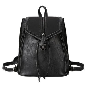 Black convertible backpack purse with crossbody strap