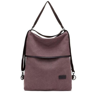 Vera, Women Multifunctional Soft Leather Backpack, palm