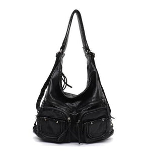 Freya, Convertible Multifunctional Bag, black