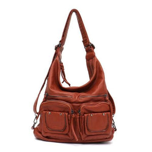 Freya, Convertible Multifunctional Bag, brown