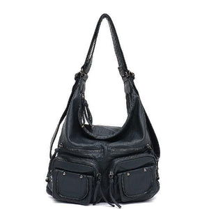 Freya, Convertible Multifunctional Bag, navy
