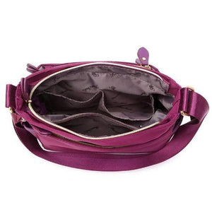 multiple storage compartment bag
