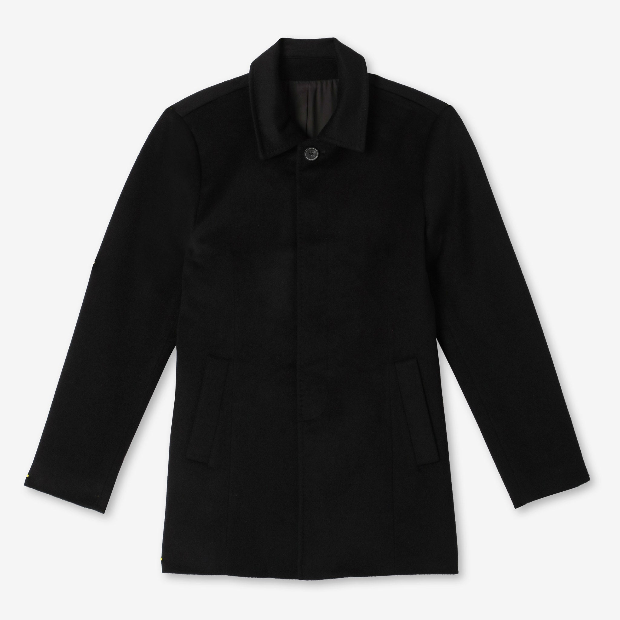 Abbey Everyday Car Coat in Black