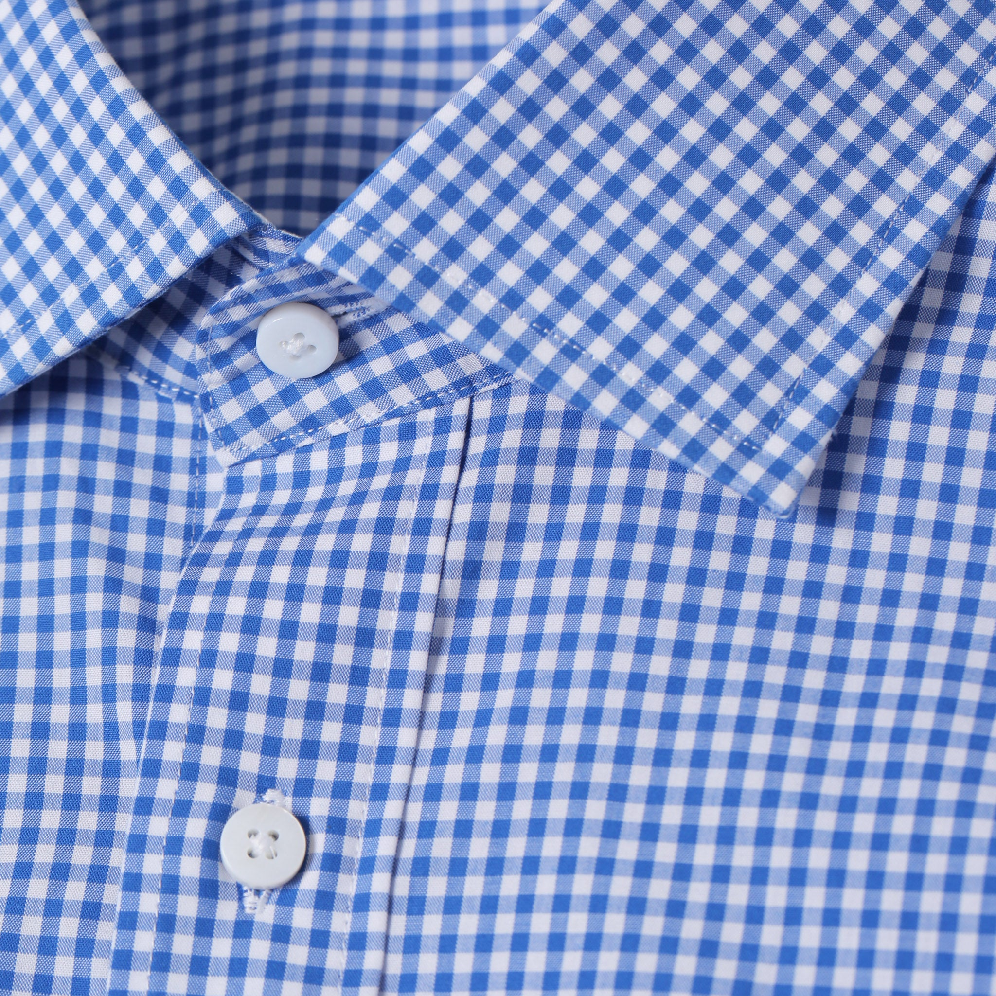 Mason Everyday Shirt in Blue Gingham