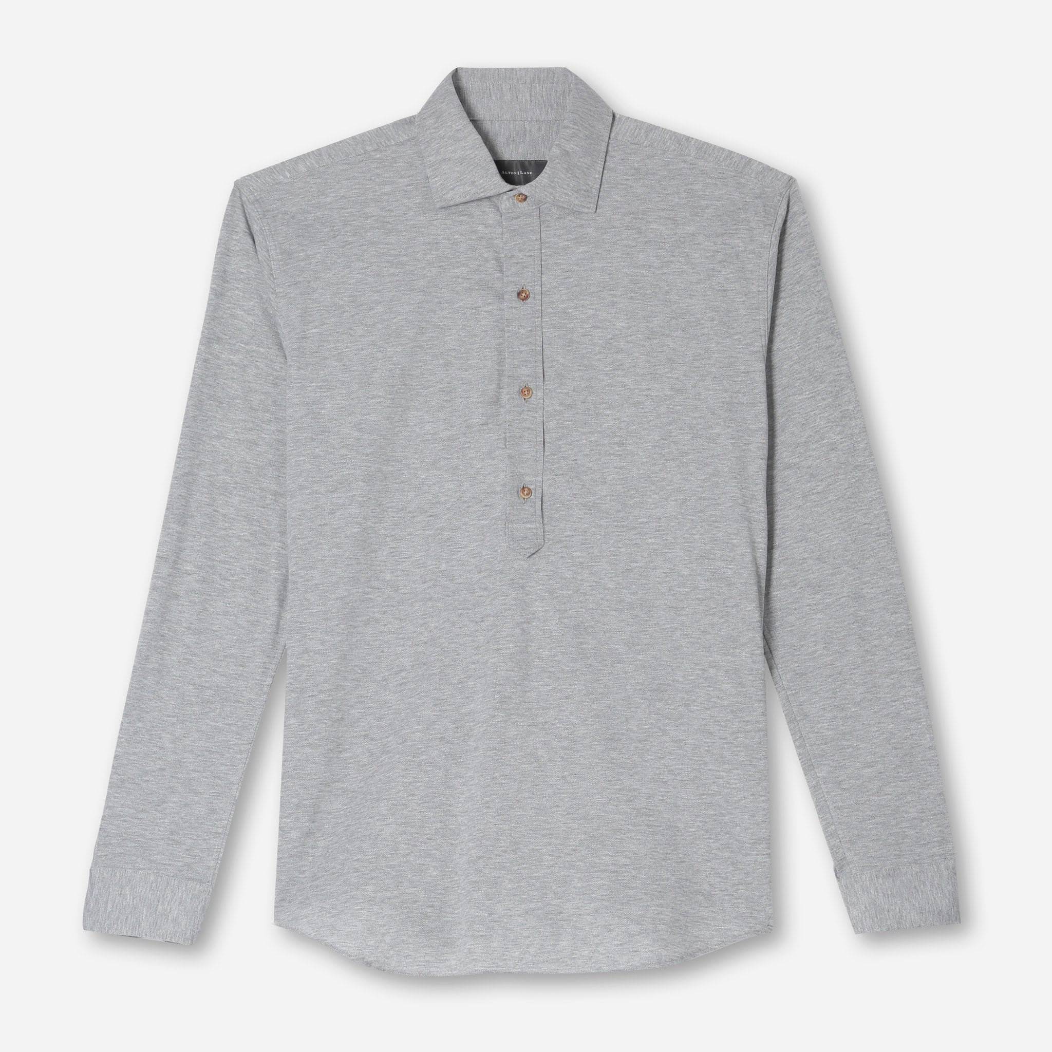 Harris Everyday Popover in Grey Twill