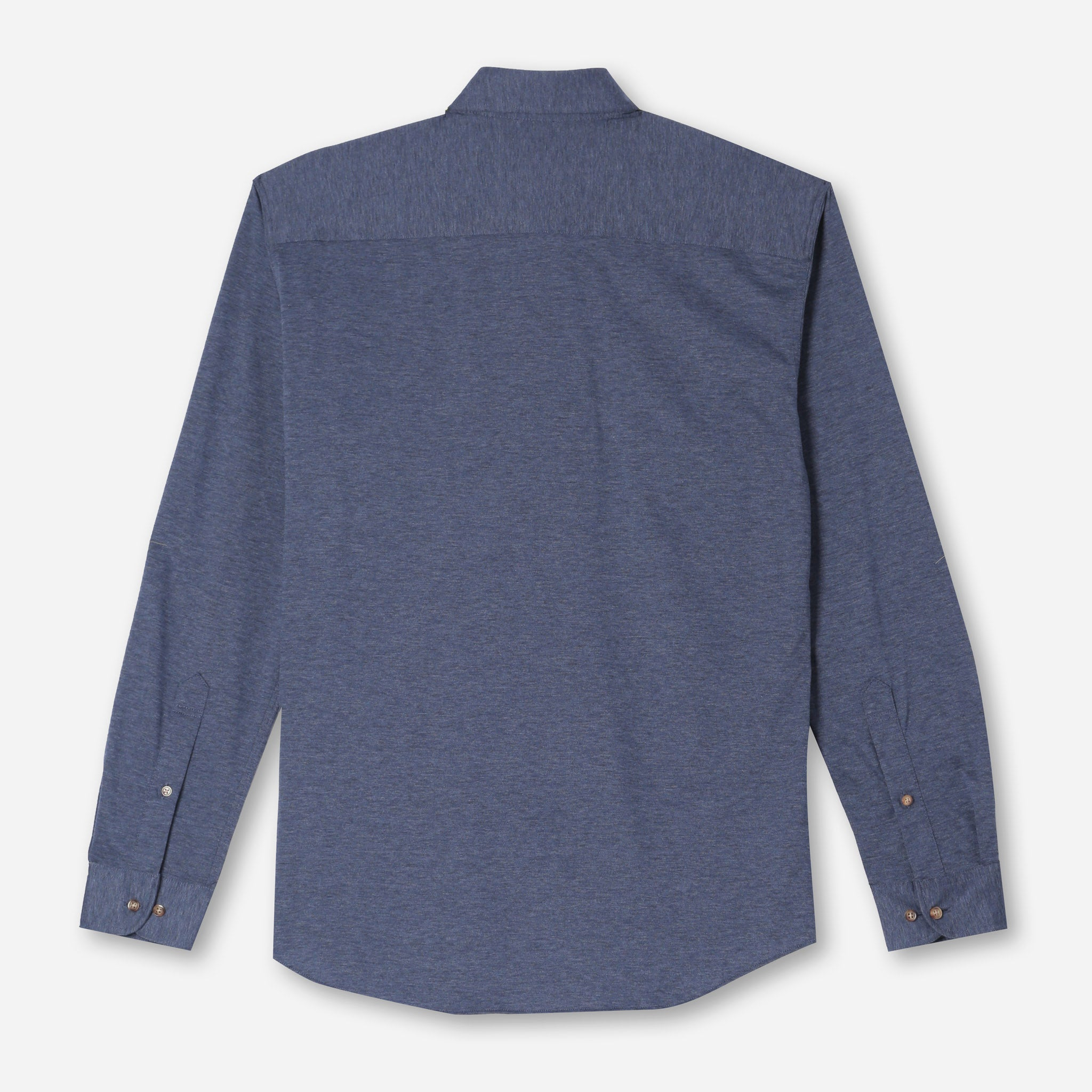 Harris Everyday Popover in Heathered Navy Twill
