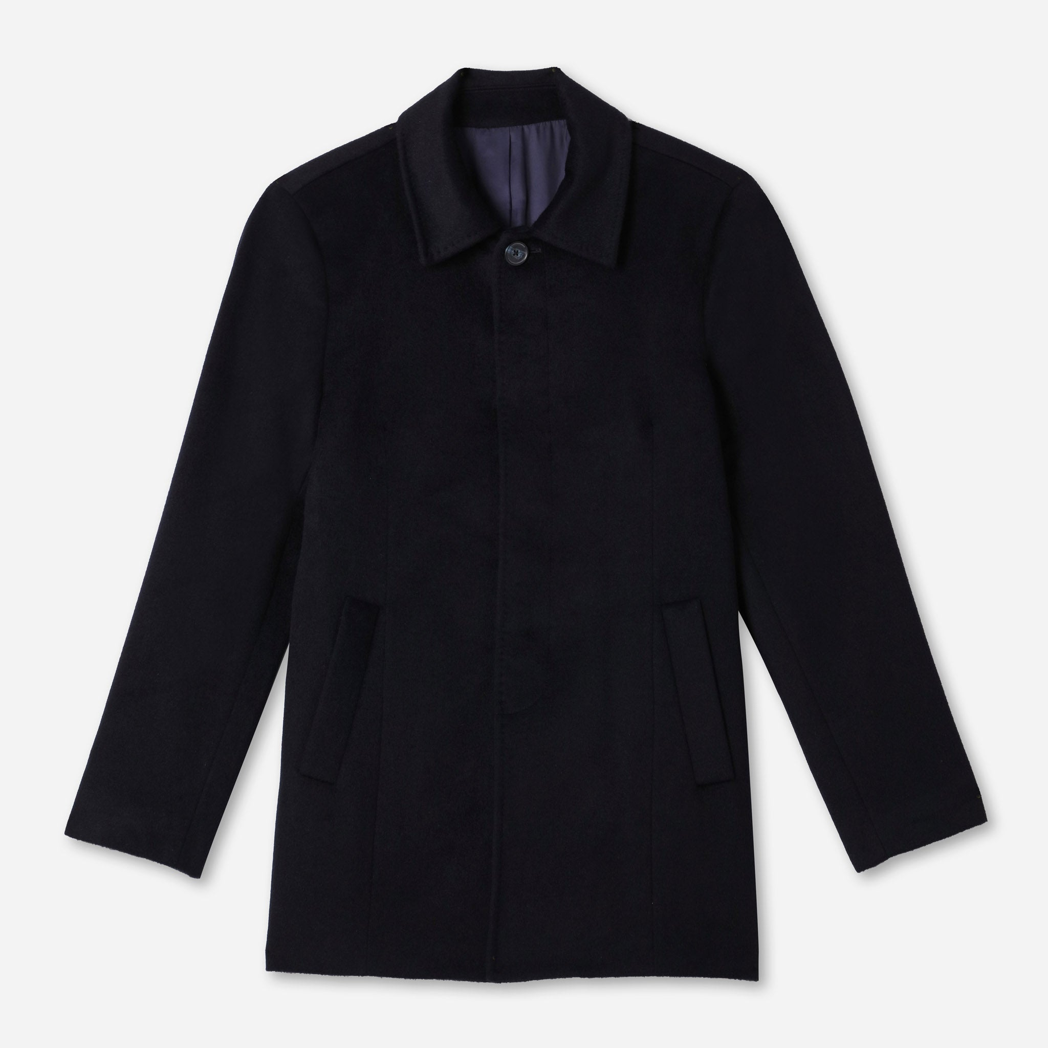 Abbey Everyday Car Coat in Navy