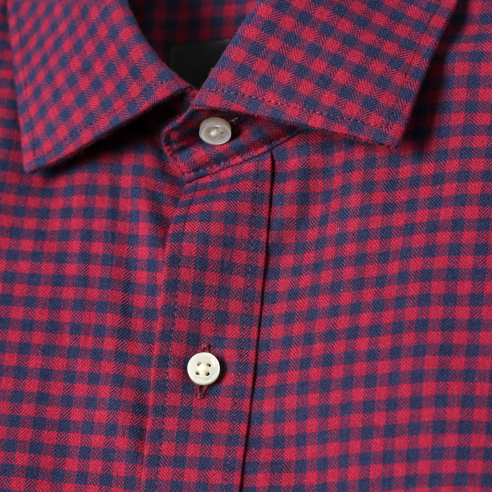 Howard Everyday Flannel in Red Gingham
