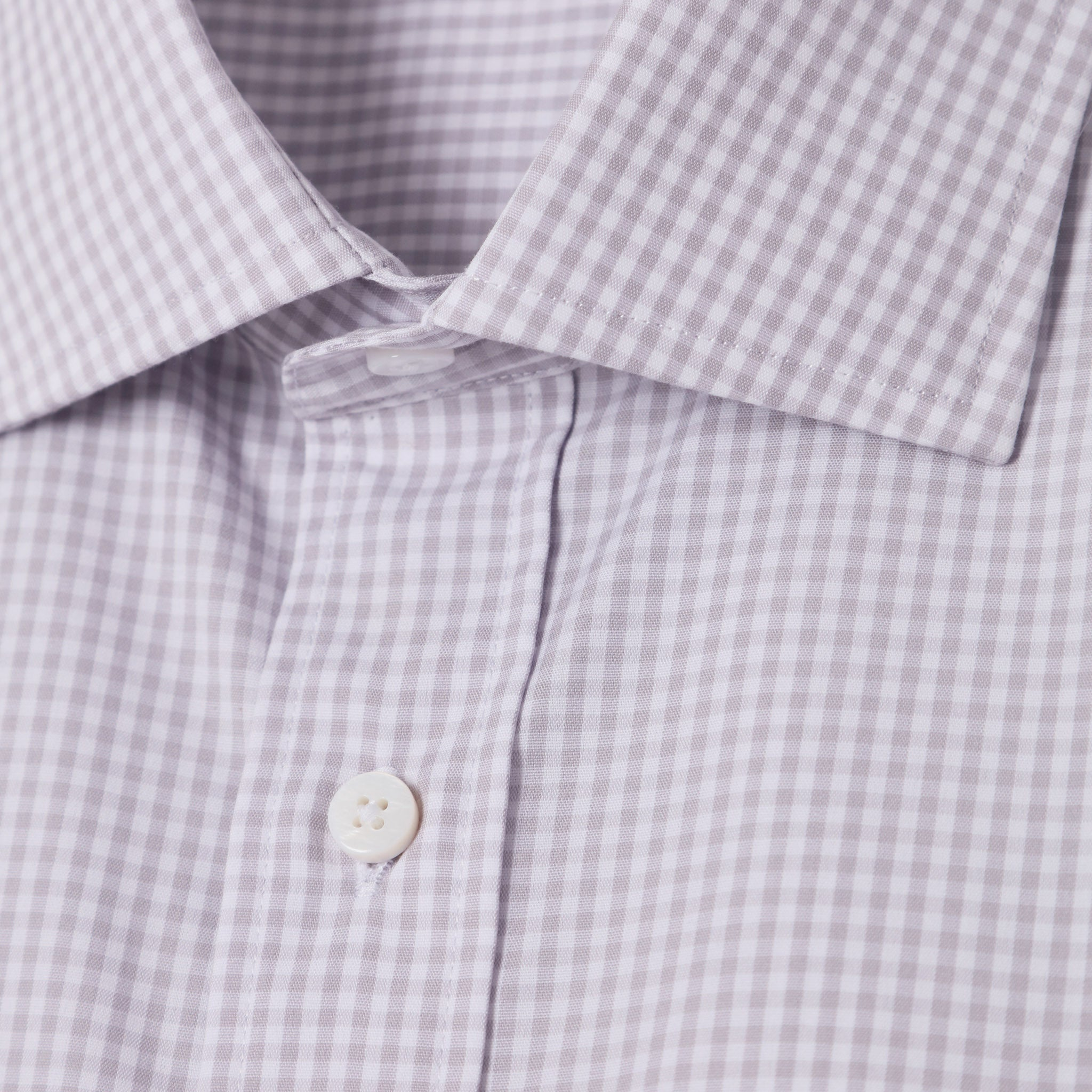 Mason Everyday Shirt in Grey Gingham