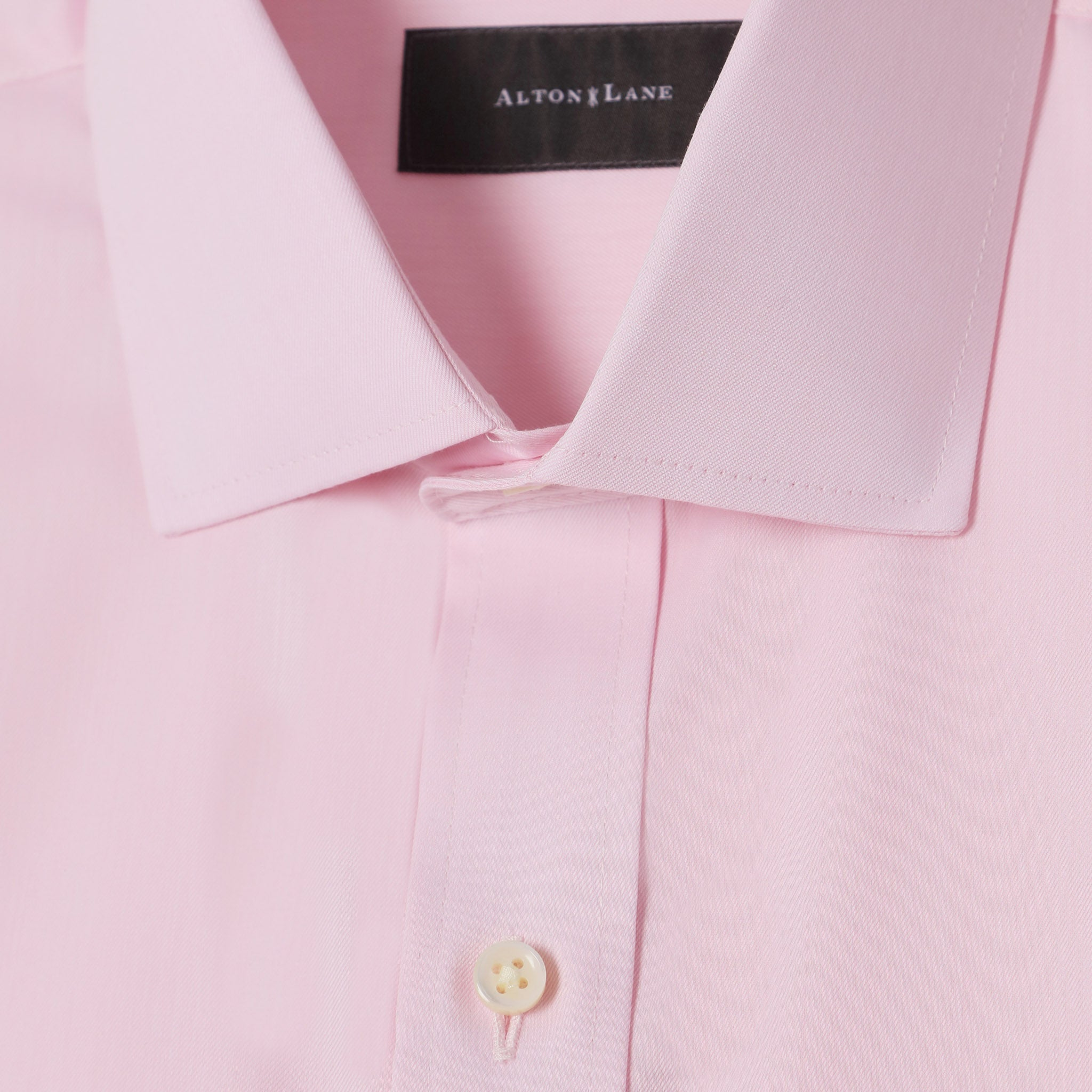 Mason Everyday Premium Shirt in Pale Pink Solid