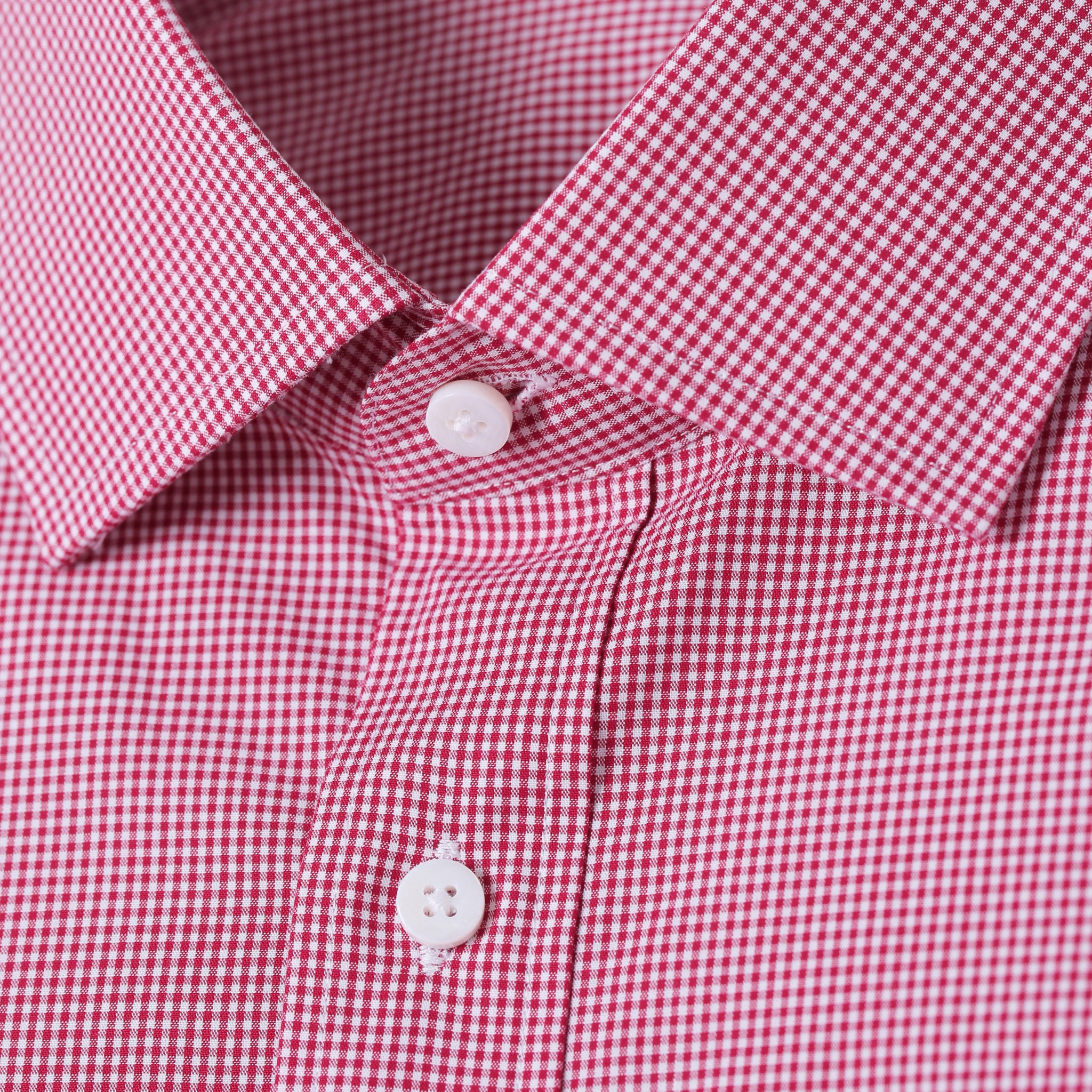 Mason Everyday Premium Shirt in Red Gingham