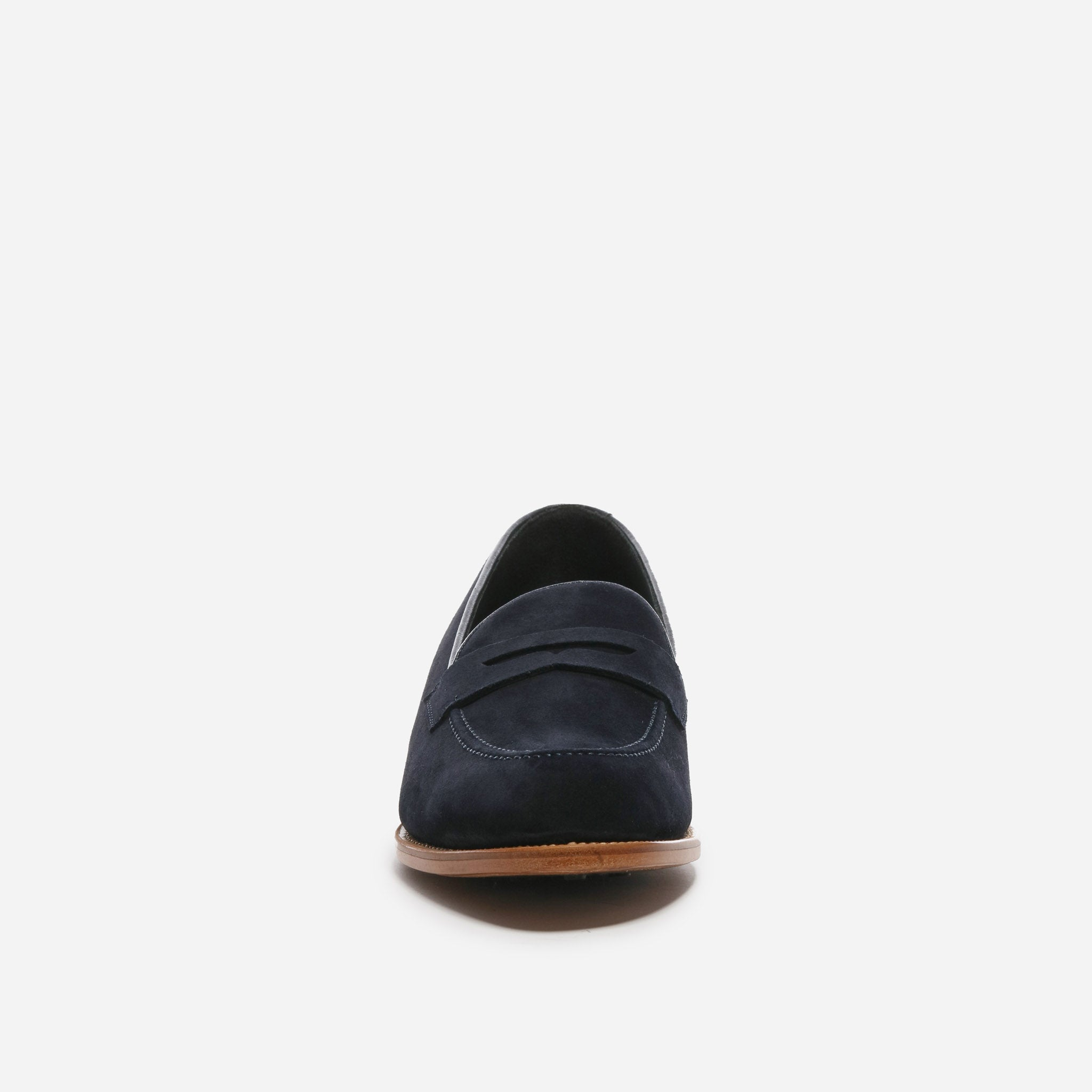 Perry in Navy Suede