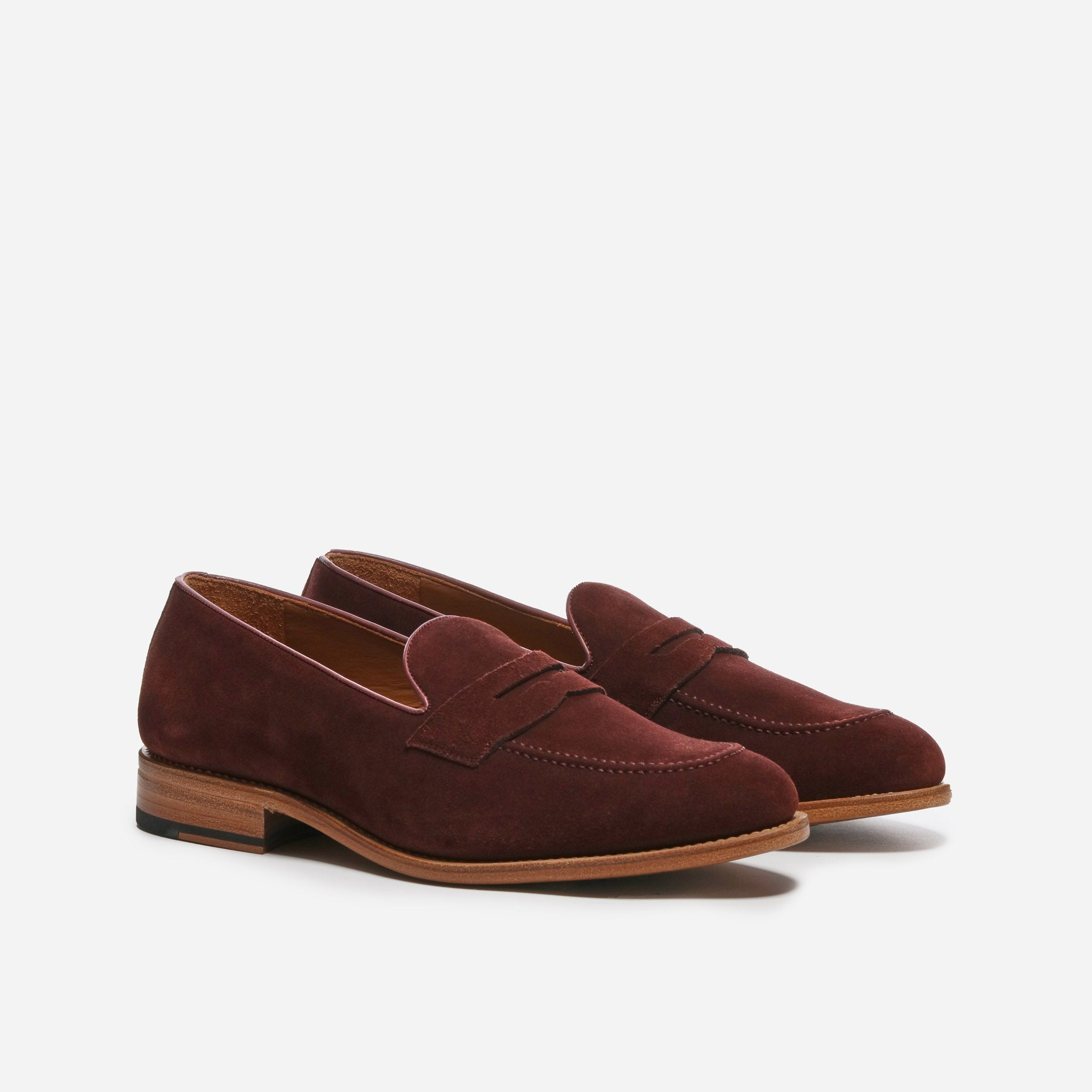 Perry in Plum Suede