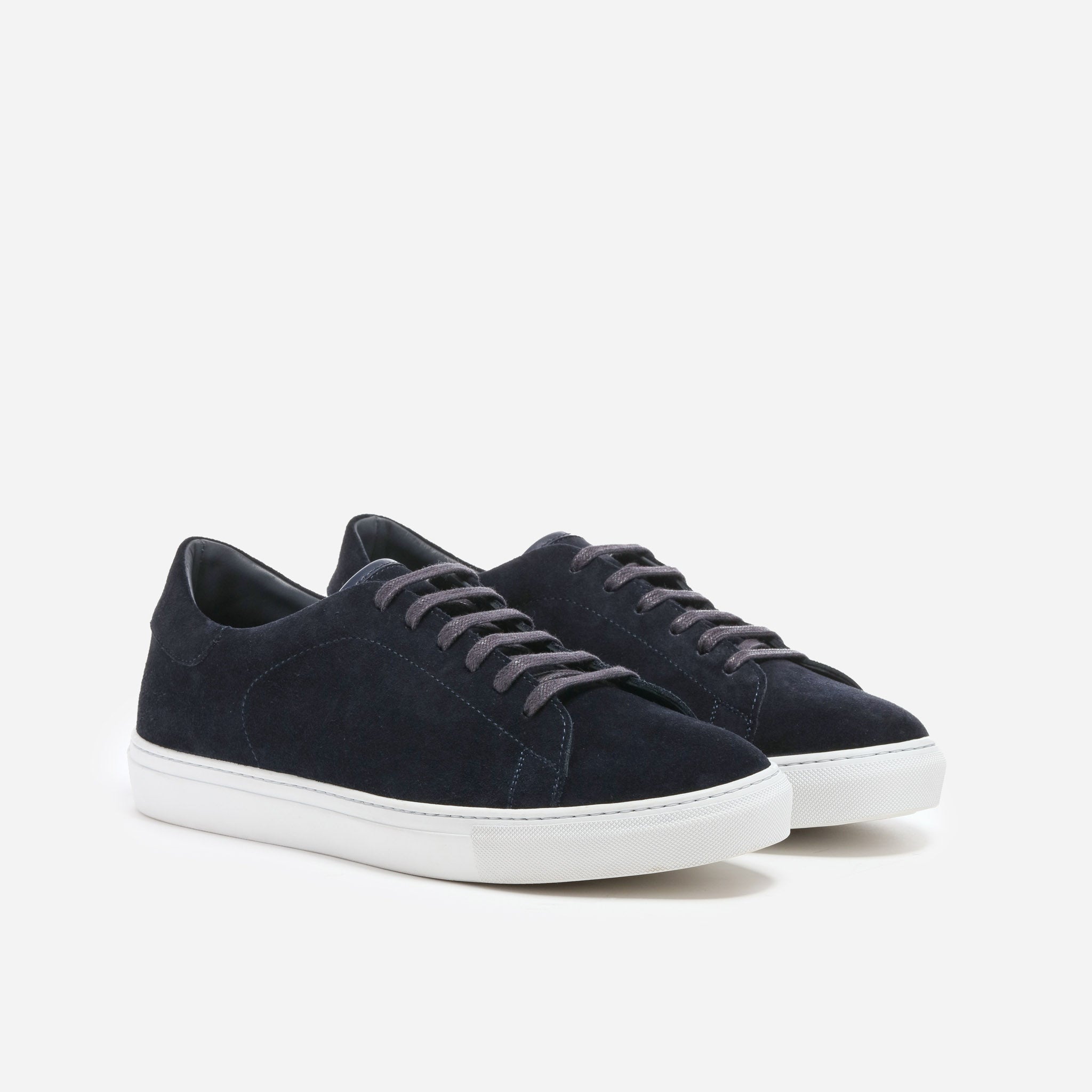 Andy in Navy Suede