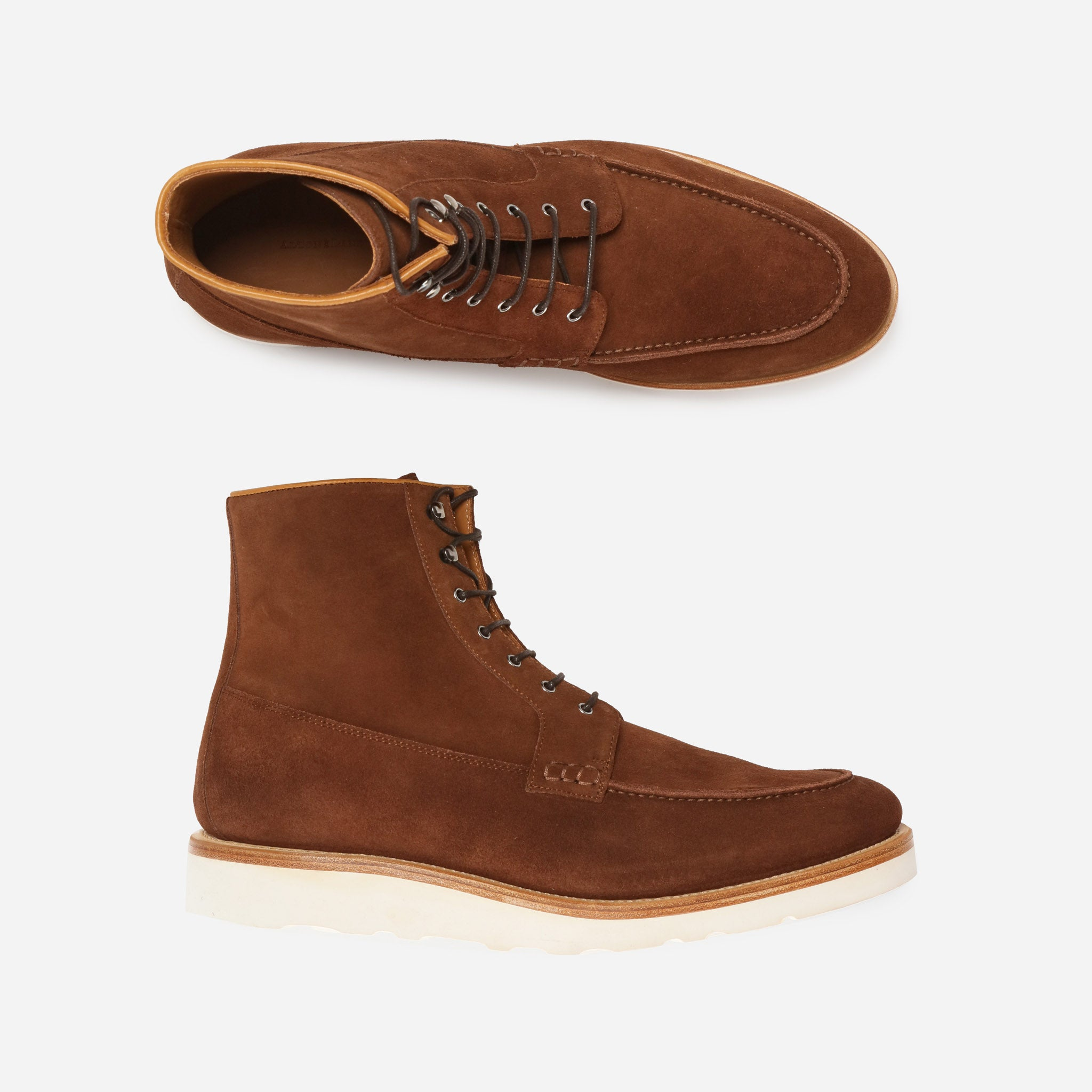 Powhatan in Brown Suede