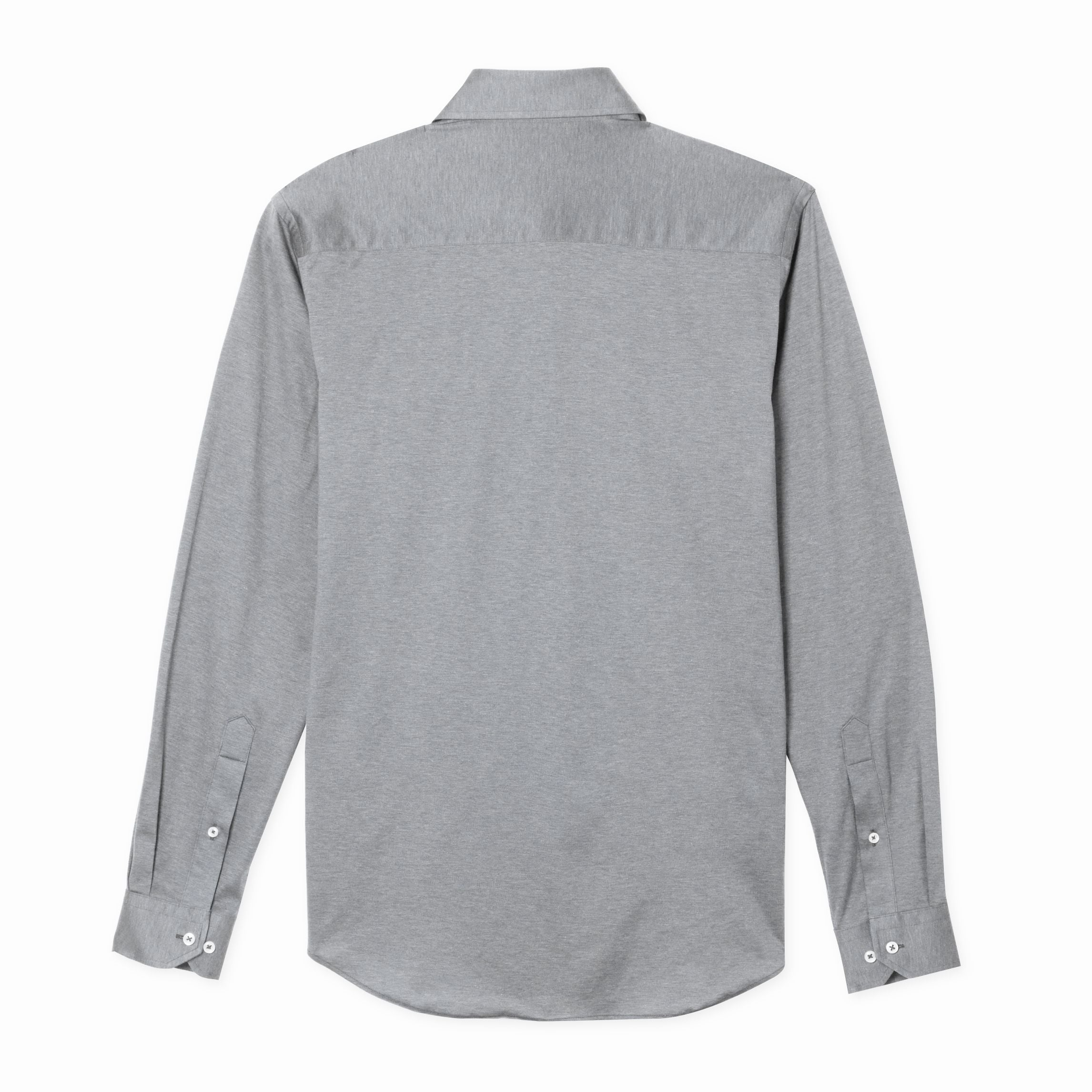 The Zoom Shirt in Heathered Grey
