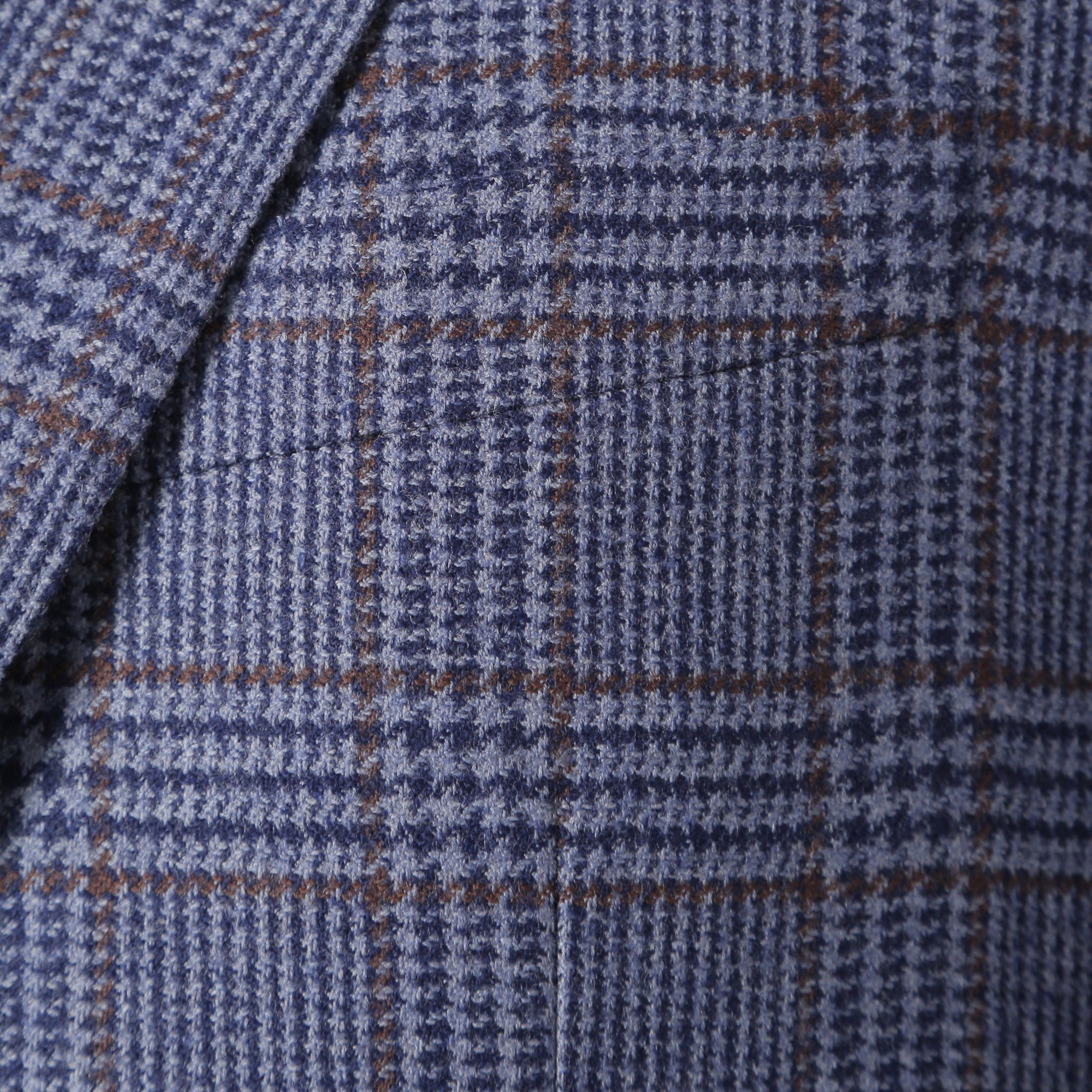 Secco Everyday Blazer in Purple Glenplaid