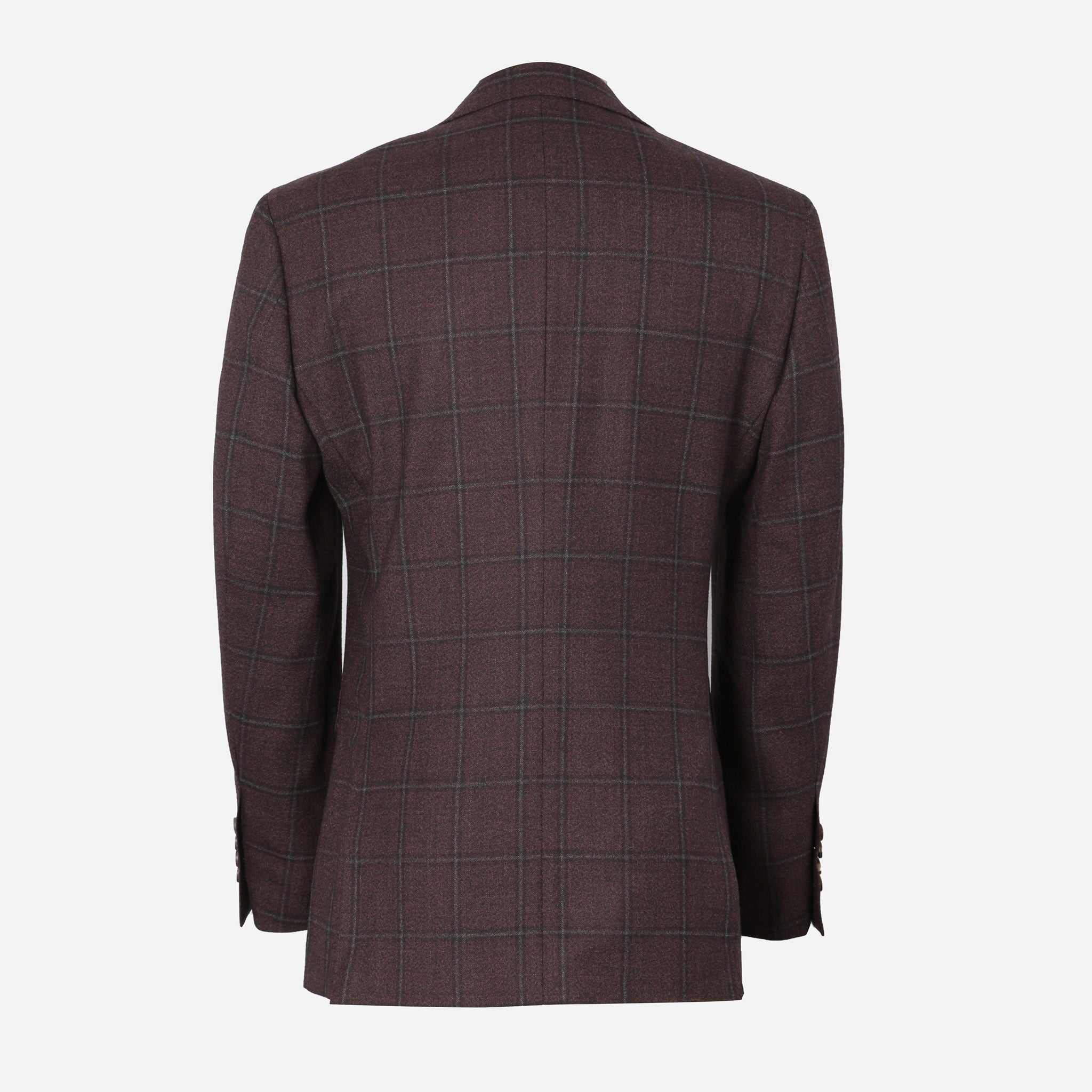 Secco Everyday Blazer in Purple Windowpane