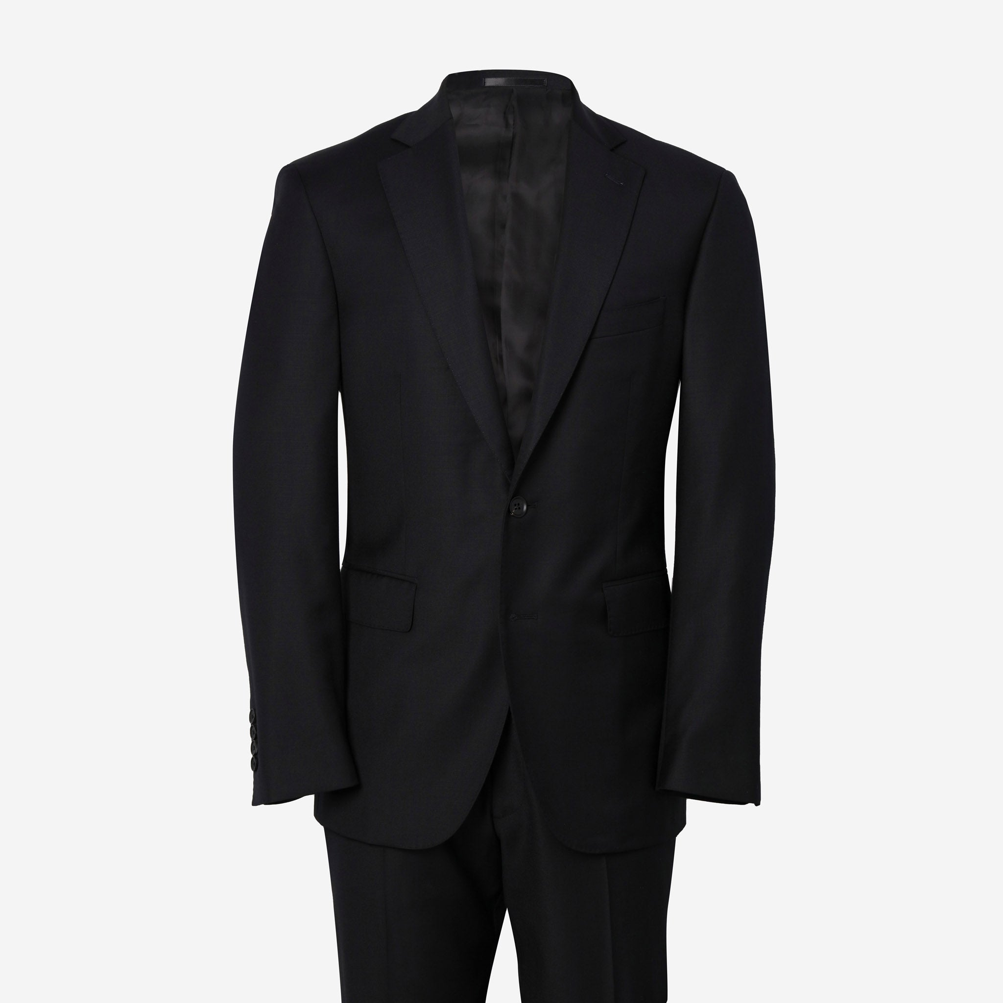 Essentials Luxe Suiting in Black
