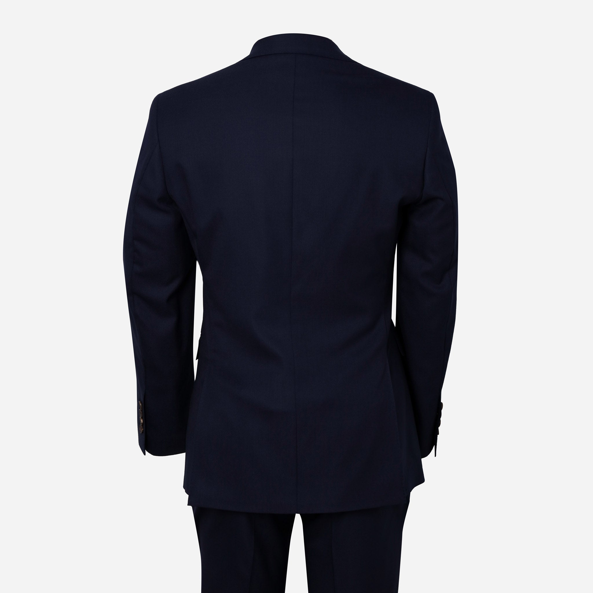 Essentials Luxe Suiting in Navy