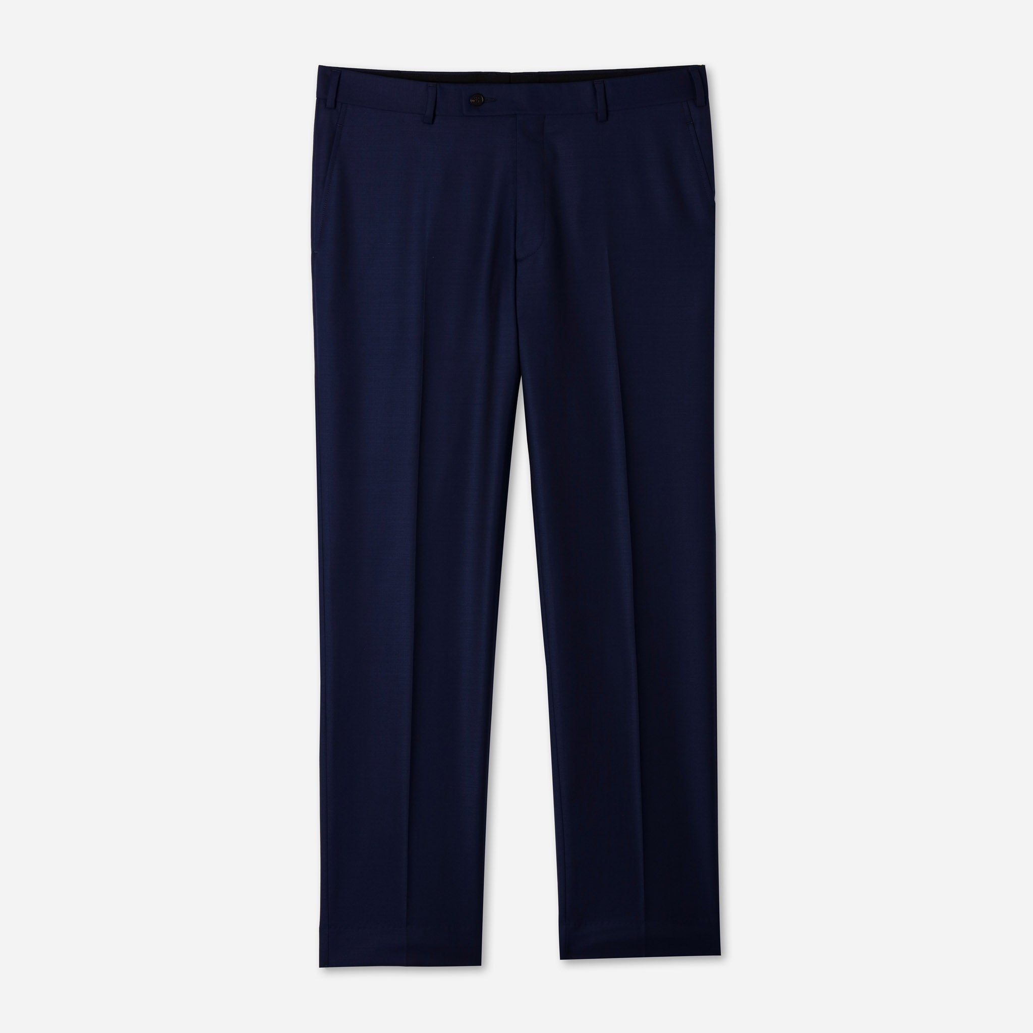 Essential Luxe Trousers in British Blue