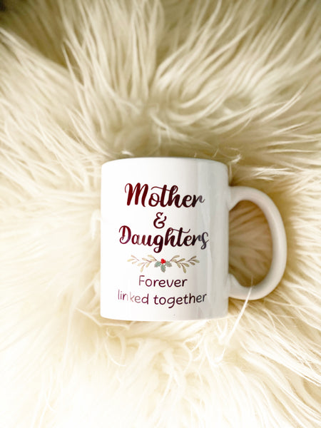 Custom Personalised Best Friend, Sisters or Family Mug