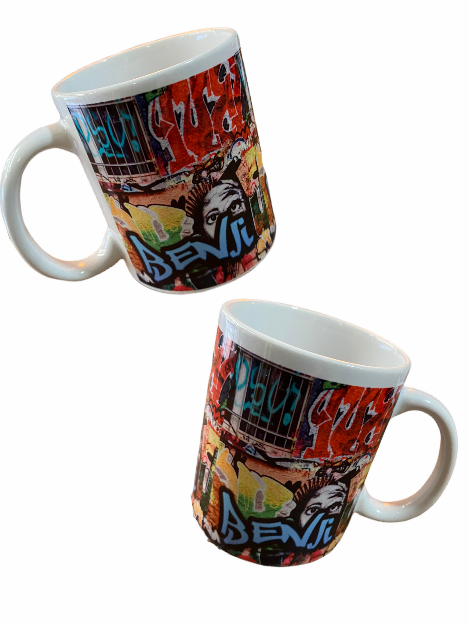 Personalised Graffiti Pop Art Mug