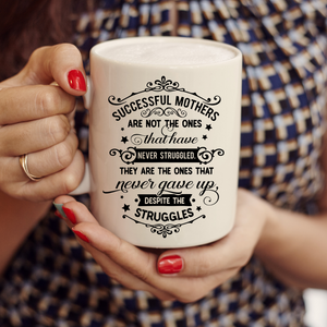 Successful Mothers Mug, Candle, Frame or Key Chain