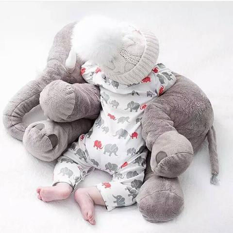 Baby Plush Elephant-Stuffed & Plush Animals-Happy Baby Place