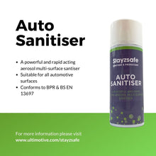 Load image into Gallery viewer, Stayzsafe Auto Sanitiser - 400ml