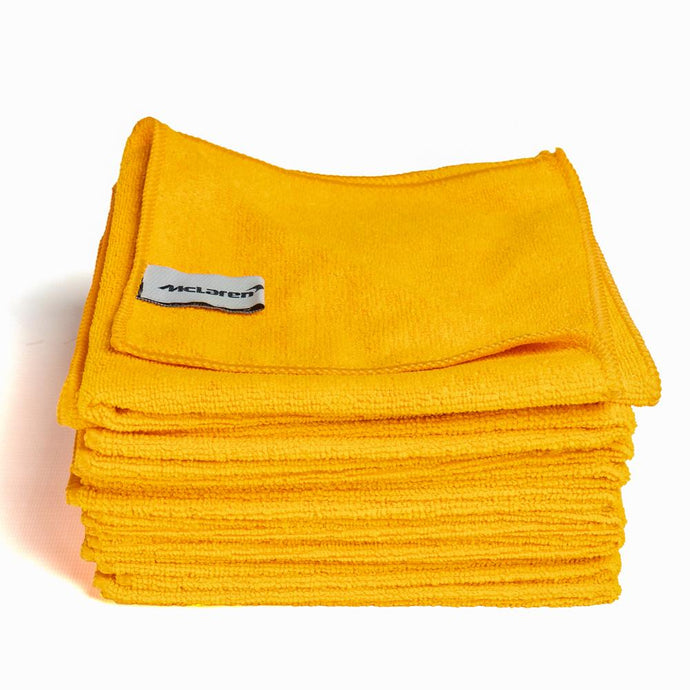 McLaren Microfibre Cloths - Pack Of 10