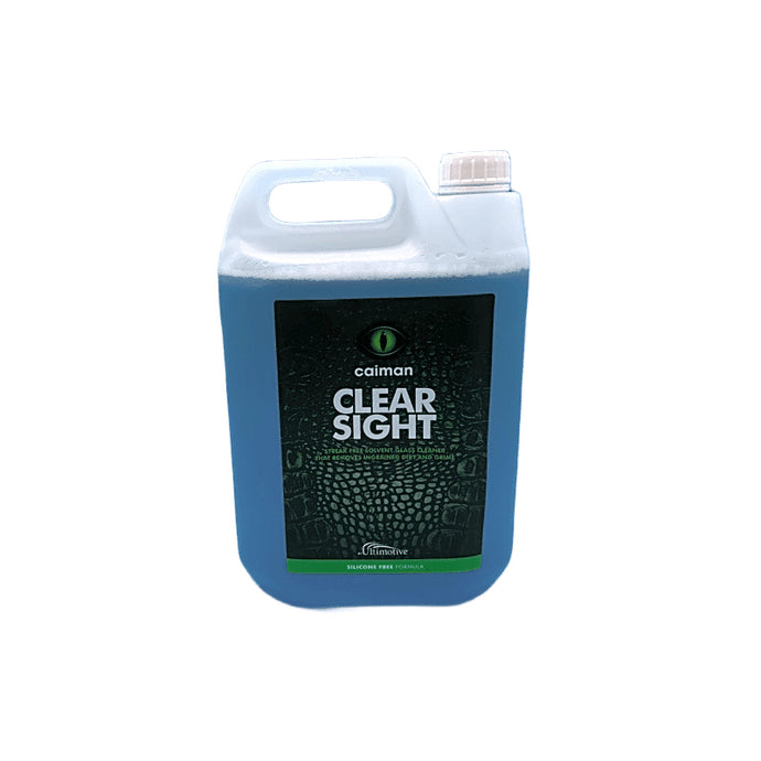 Caiman Clear Sight Glass Cleaner - 5 Litres