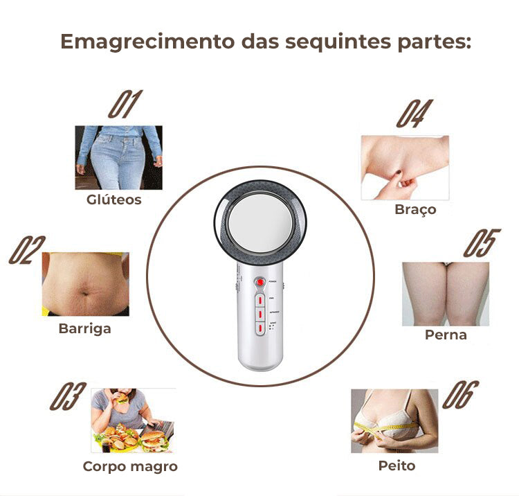 Massageador Ultra Sônico