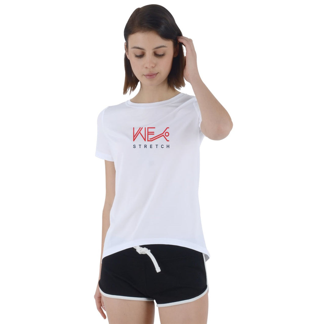 Just Keep Stretching Foldover Tee