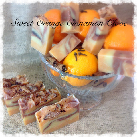 Sweet Orange, Cinnamon, Clove