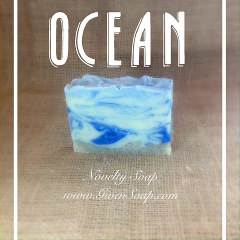 """Ocean Breeze"" Novelty Soap"