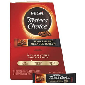 Freeze Dried Instant Coffee Packet - Single Cup Regular - Pack of 10